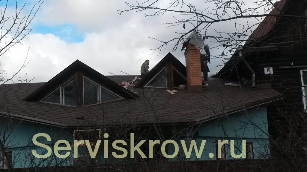 монтажные работы по установке крыши в Москве и области