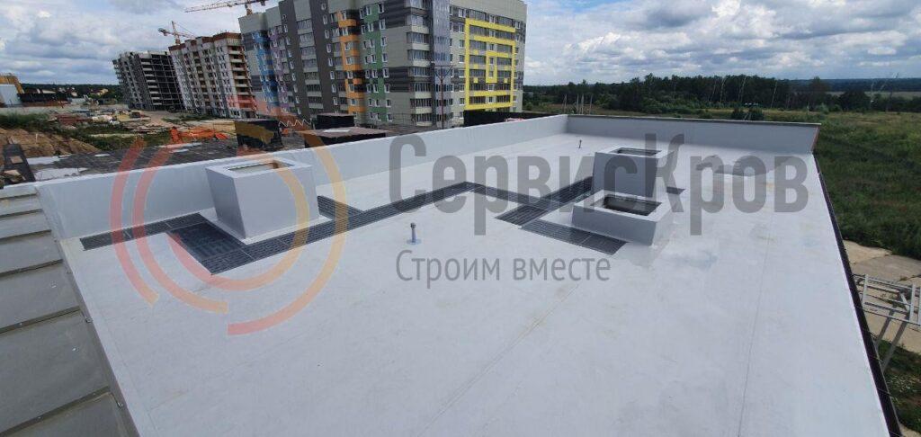 профессиональный монтаж крыши в Москве и области